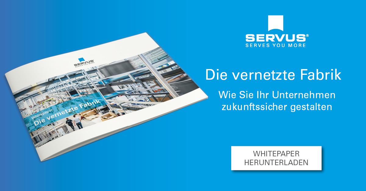Die vernetzte Fabrik - Whitepaper herunterladen